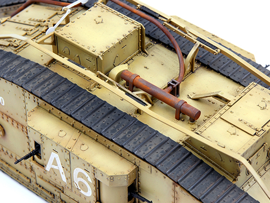 British Heavy Tank Mk.V Female  (Vista 7)