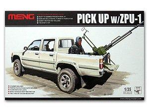 Pick Up truck w/ZPU-1 - Ref.: MENG-VS001