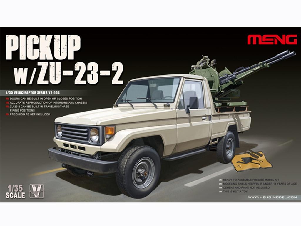Pickup w/ ZU-23-2 - Ref.: MENG-VS004