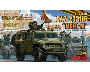 Russian GAZ 233115 Tiger-M SPN SPV - Ref.: MENG-VS008