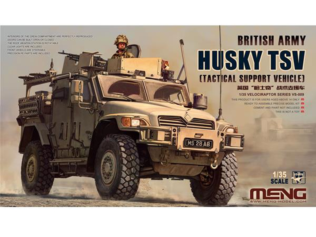 British Army Husky TSV - Ref.: MENG-VS009