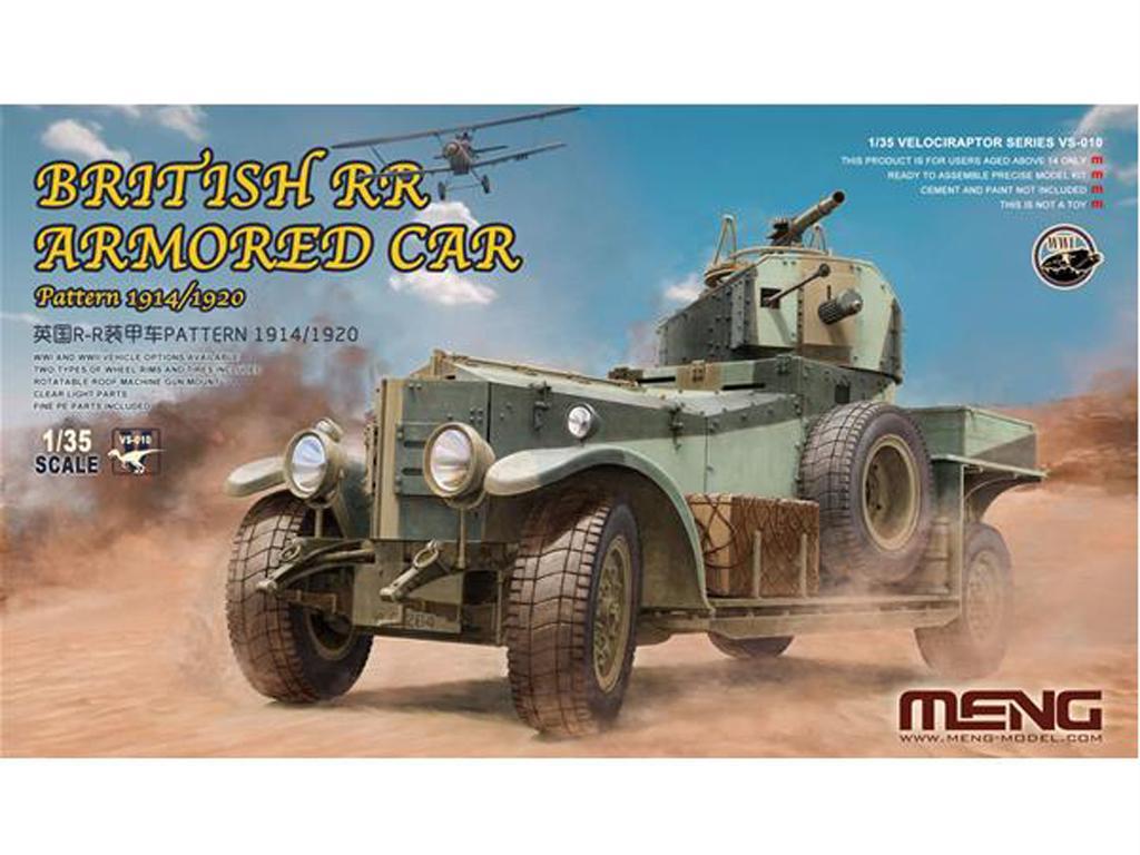 British RR Armored Car Pattern 1914/1920