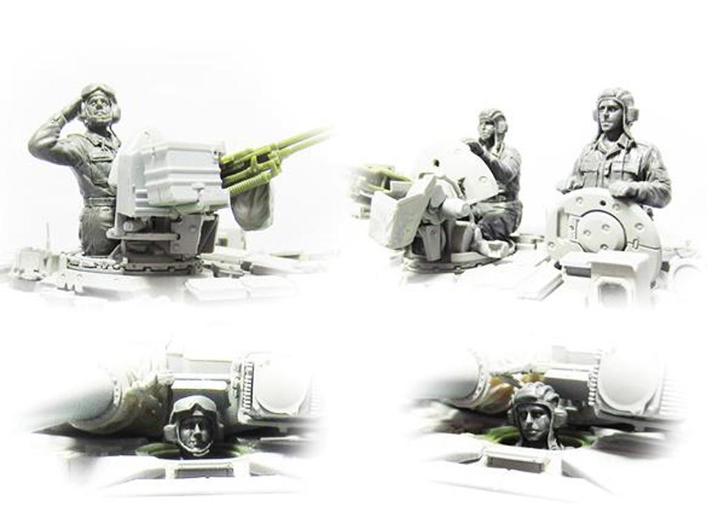 Tanquistas Fuerzas Armadas Rusas (Vista 2)