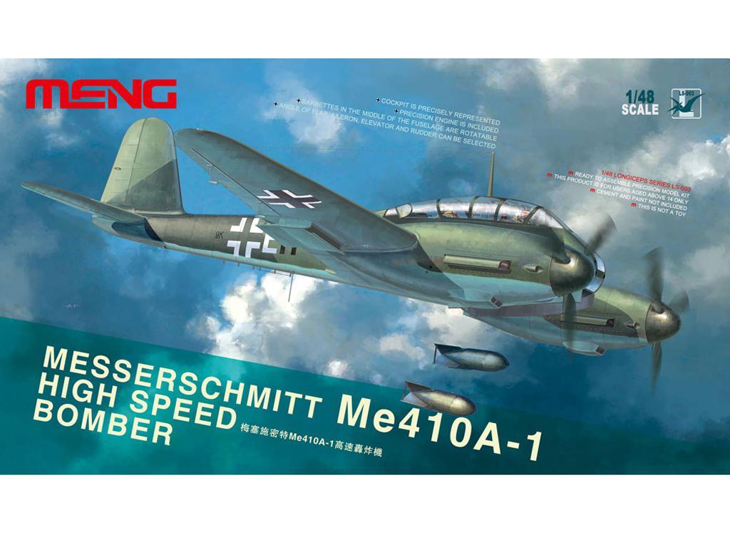 Messerschmitt Me410A-1 High Speed Bomber (Vista 1)