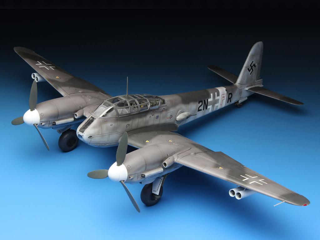 Messerschmitt Me410A-1 High Speed Bomber (Vista 3)