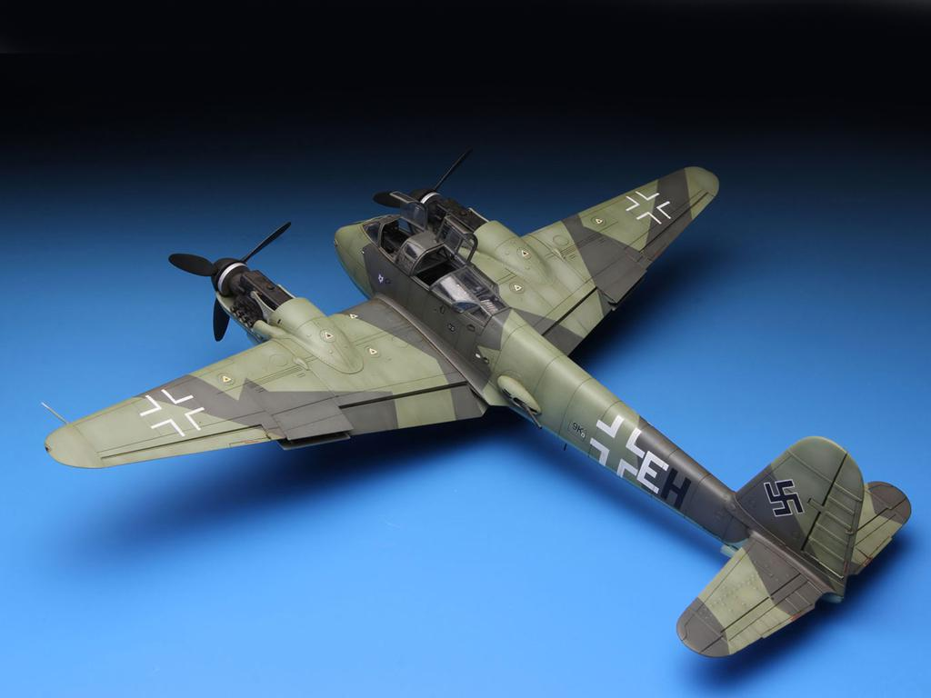 Messerschmitt Me410A-1 High Speed Bomber (Vista 4)