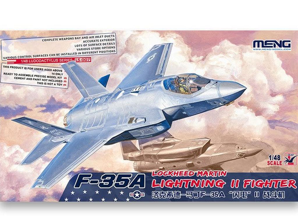 Lockheed Martin F-35A Lightning II Fight (Vista 1)
