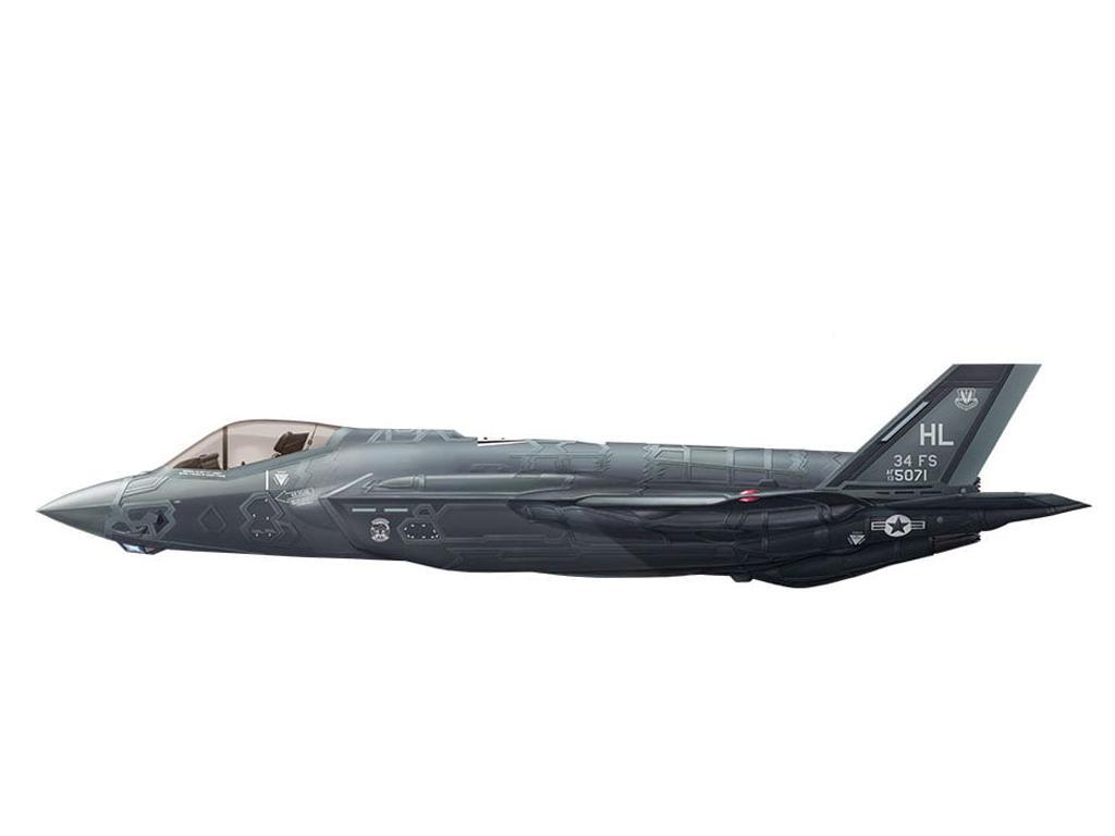 Lockheed Martin F-35A Lightning II Fight (Vista 5)