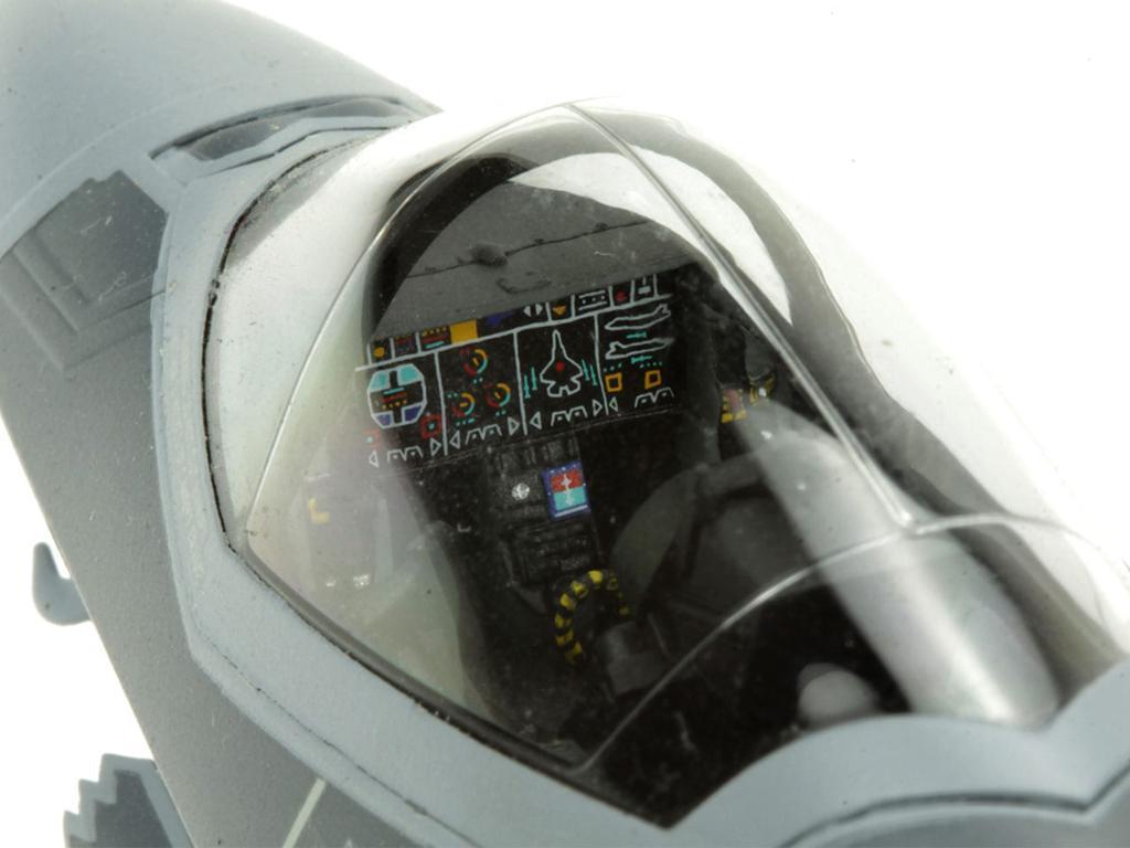 Lockheed Martin F-35A Lightning II Fight (Vista 8)