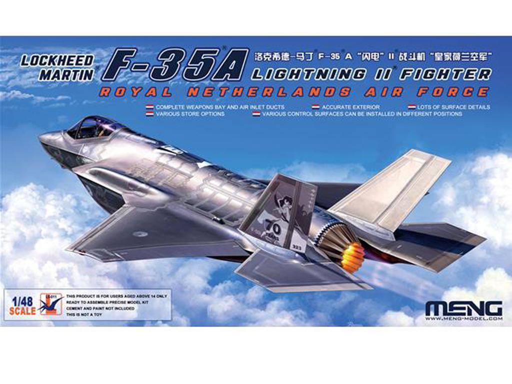 Lockheed Martin F-35A Lightning II  (Vista 1)