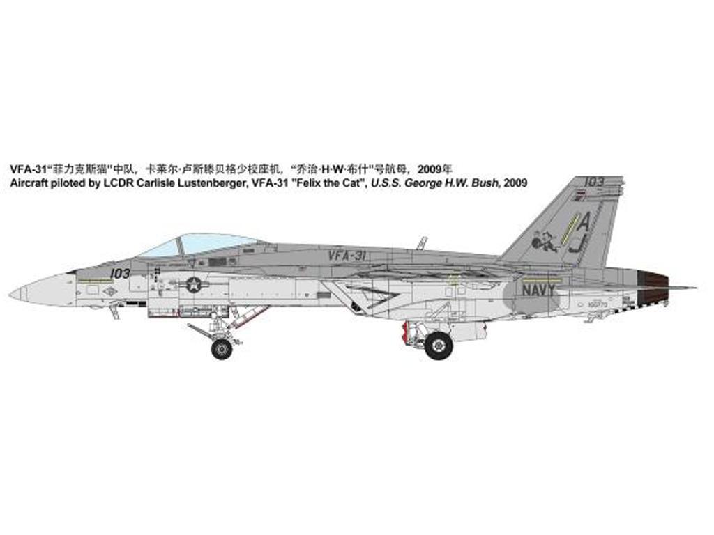 Boeing F/A-18E Super Hornet (Vista 11)