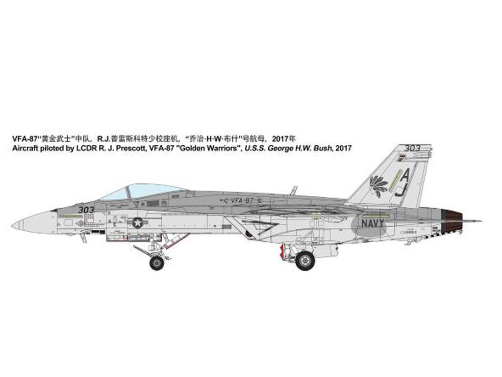 Boeing F/A-18E Super Hornet (Vista 12)