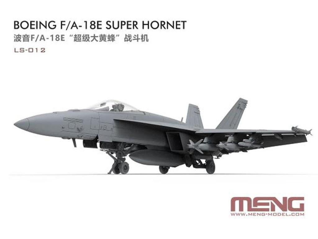 Boeing F/A-18E Super Hornet (Vista 3)