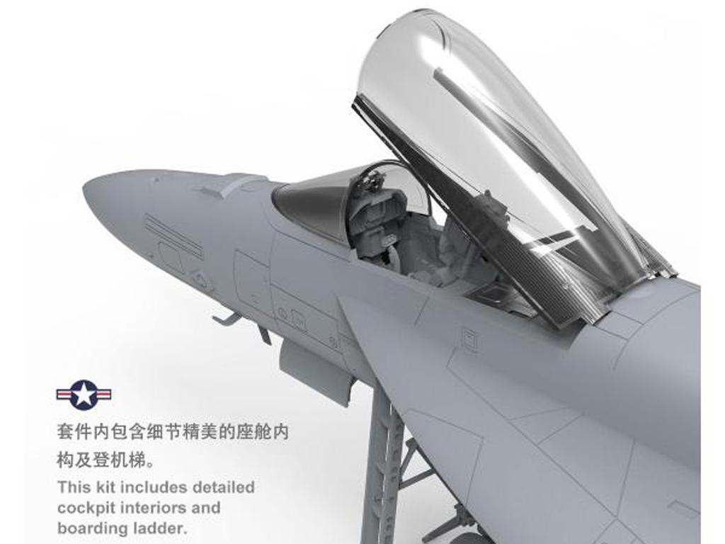 Boeing F/A-18E Super Hornet (Vista 8)