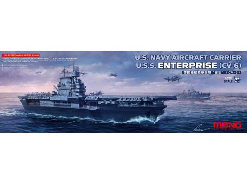 U.S. Navy Aircraft Carrier U.S.S. Enterprise (Vista 1)