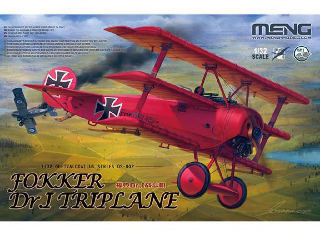 Fokker Dr.I Triplane (Vista 1)