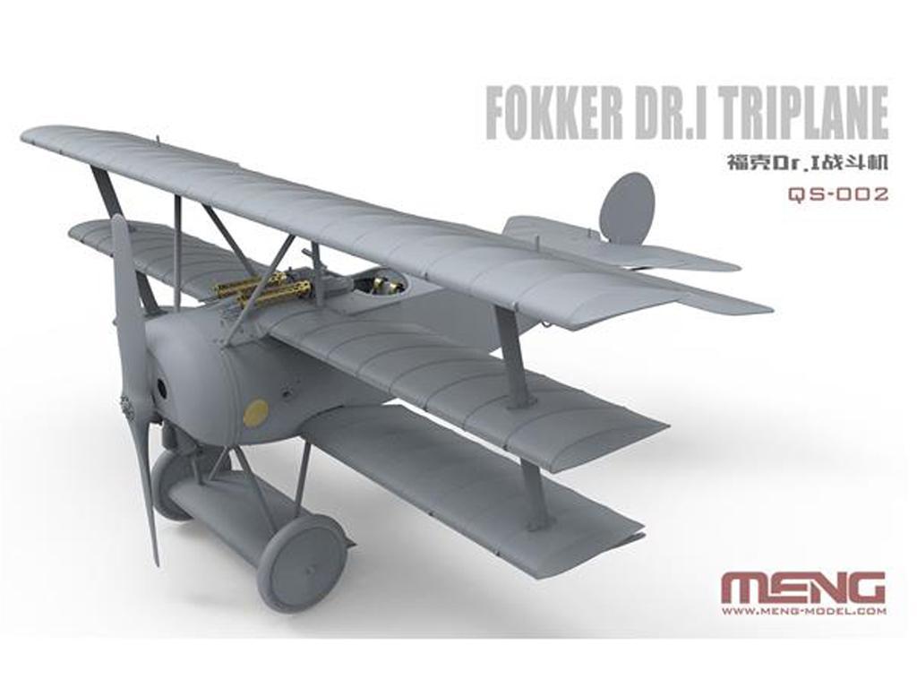 Fokker Dr.I Triplane (Vista 3)