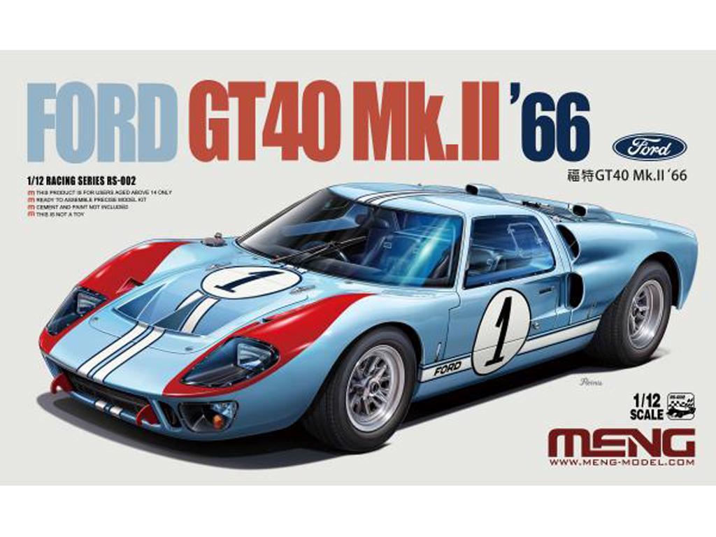 Ford GT40 Mk.II - 1966 (Vista 1)