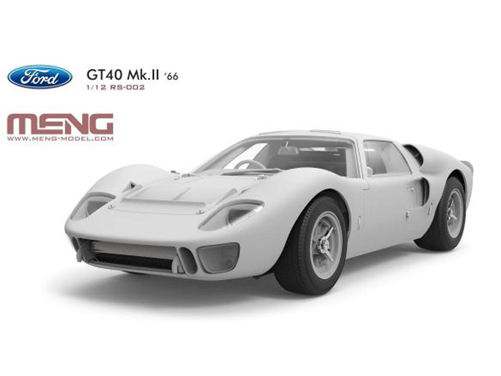 Ford GT40 Mk.II - 1966 (Vista 4)
