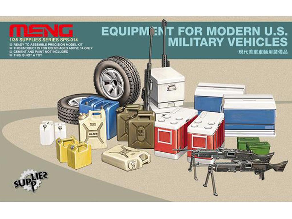 Pertrechos vehiculos modernos US (Vista 1)