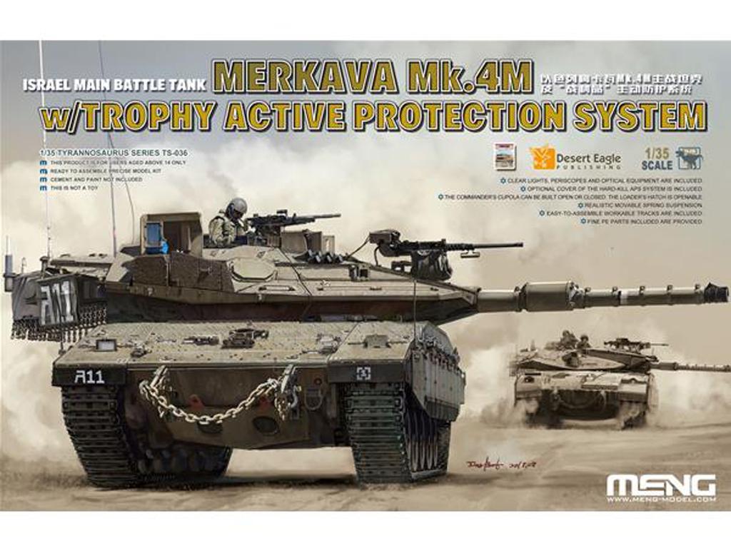 Israel Main Battle Tank Merkava Mk.4M w/ (Vista 1)