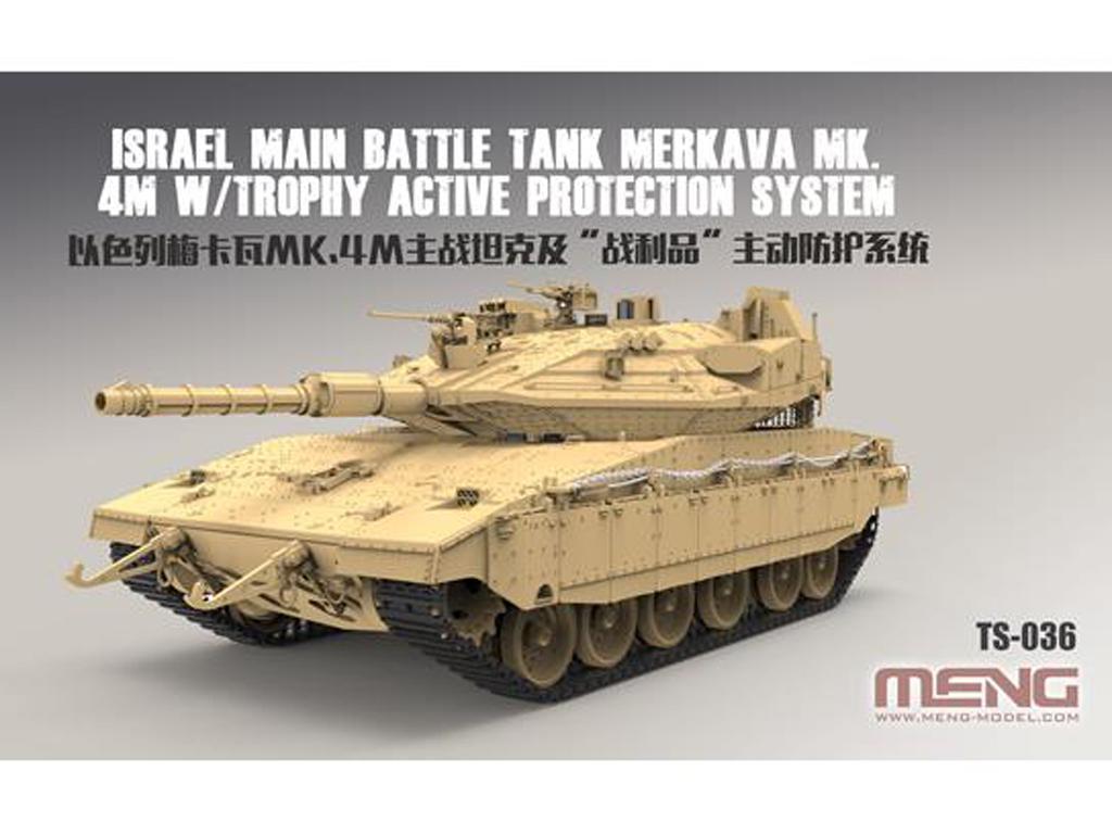 Israel Main Battle Tank Merkava Mk.4M w/ (Vista 2)
