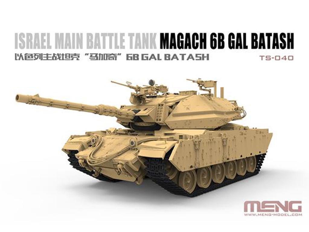 Israel Main Battle Tank Magach 6B GAL BATASH (Vista 2)