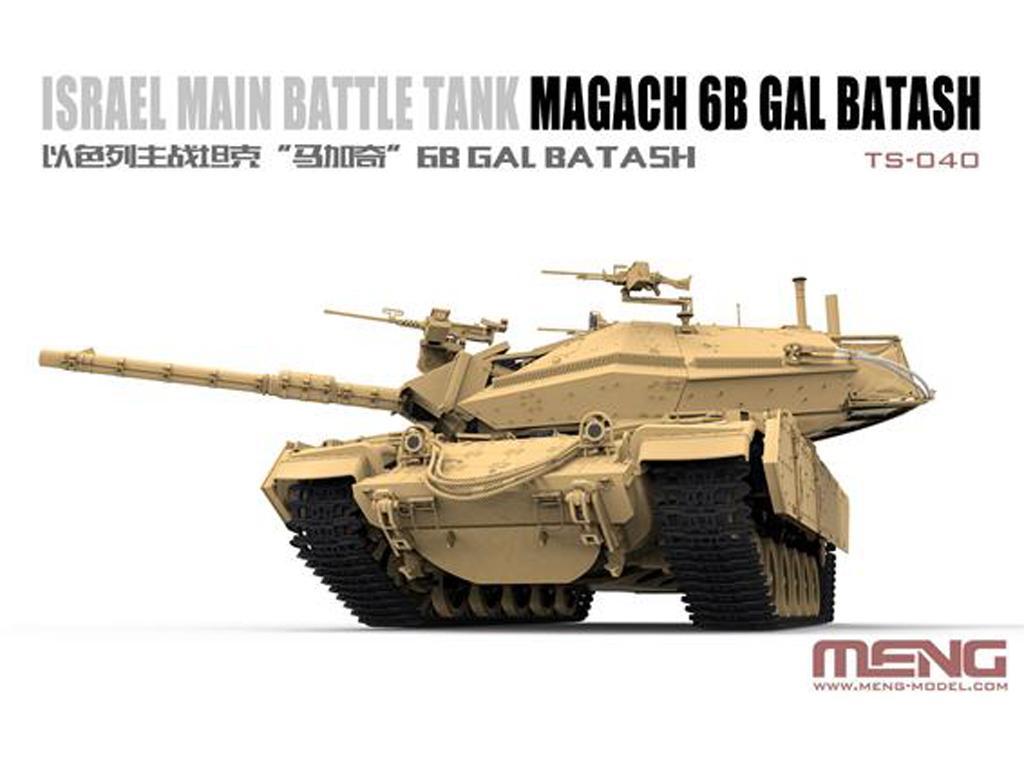 Israel Main Battle Tank Magach 6B GAL BATASH (Vista 3)
