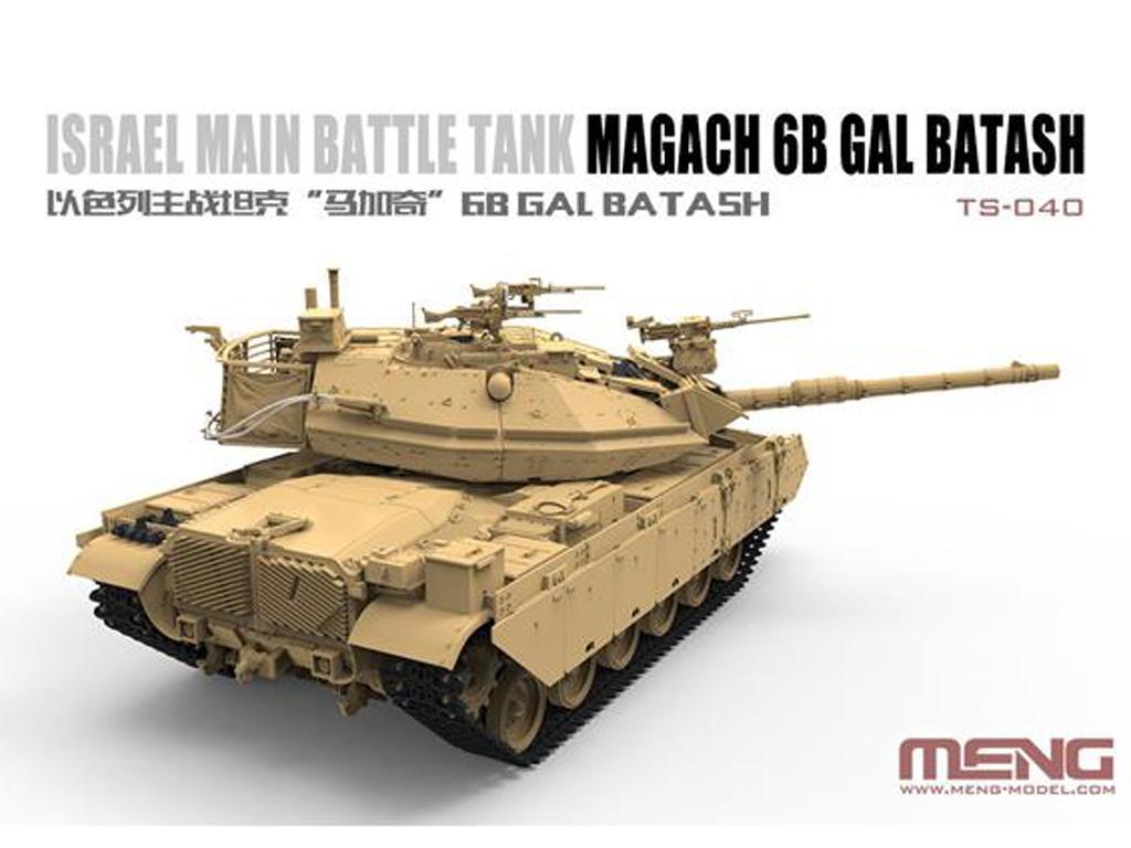 Israel Main Battle Tank Magach 6B GAL BATASH (Vista 4)