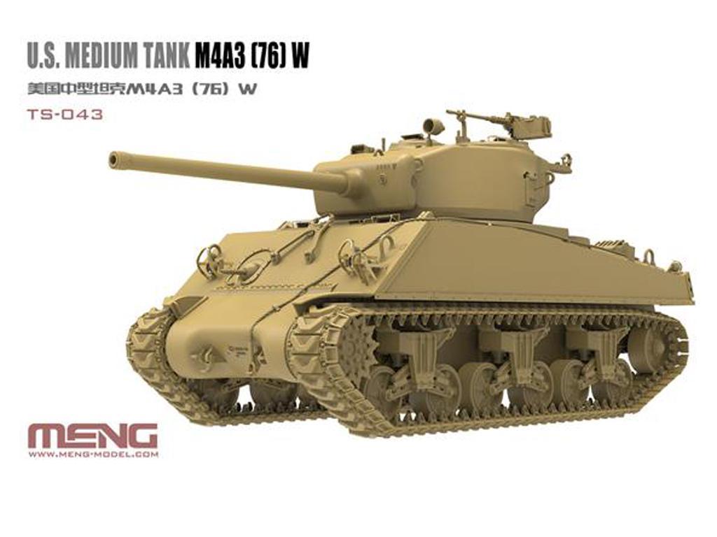 U.S. Medium Tank M4A3 (76) W Sherman  (Vista 3)