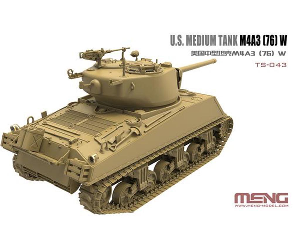 U.S. Medium Tank M4A3 (76) W Sherman  (Vista 4)