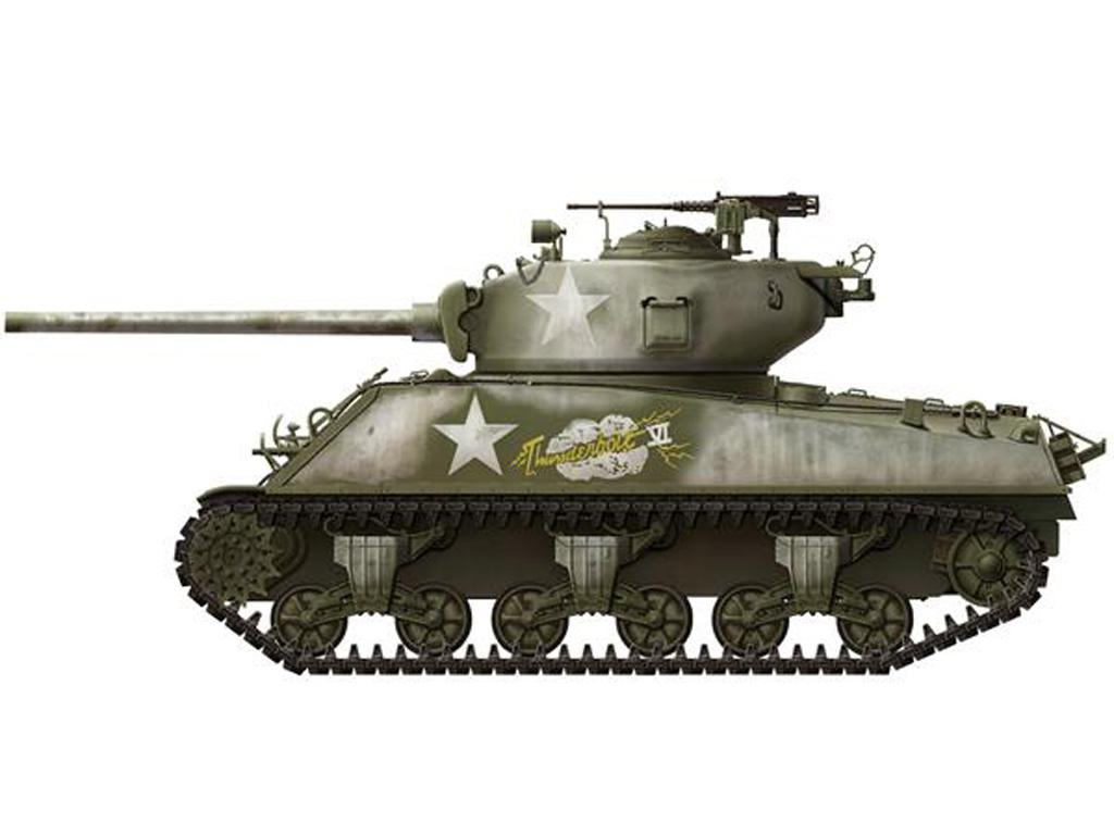 U.S. Medium Tank M4A3 (76) W Sherman  (Vista 8)