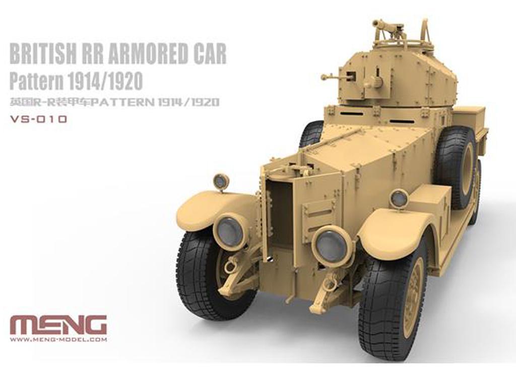 British RR Armored Car Pattern 1914/1920 (Vista 2)