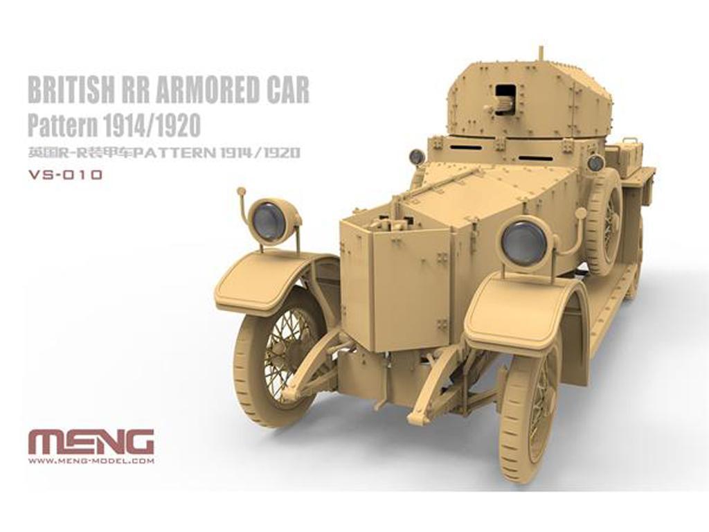 British RR Armored Car Pattern 1914/1920 (Vista 3)