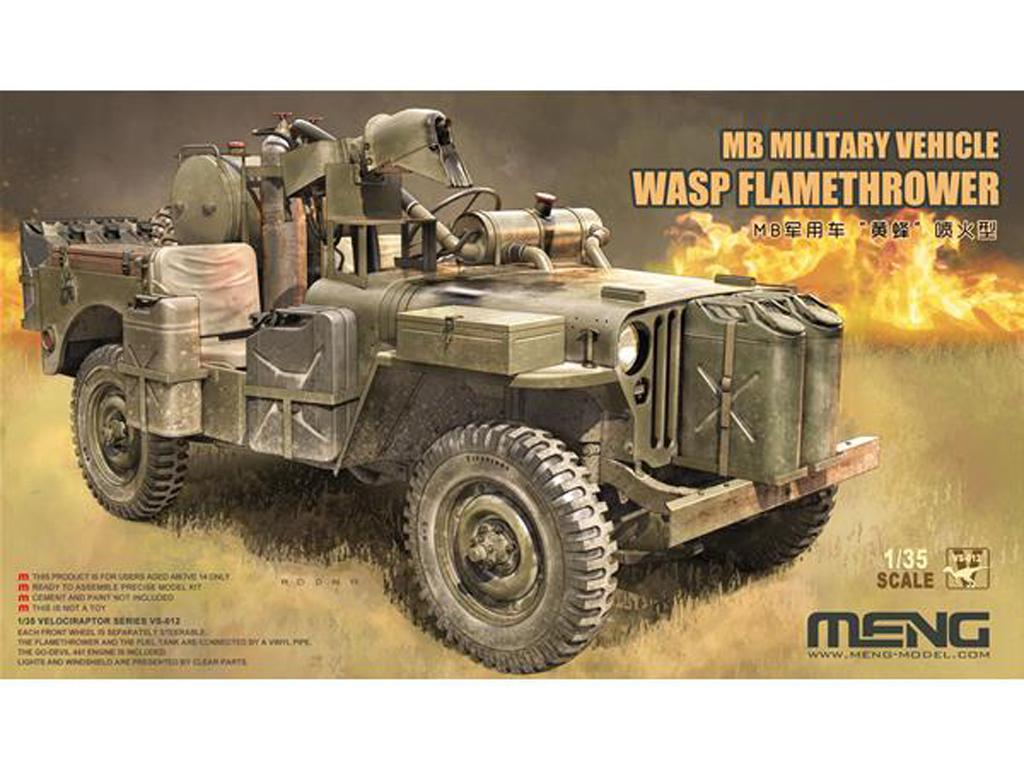 MB Military Vehicle Wasp Flamethrower (Vista 1)