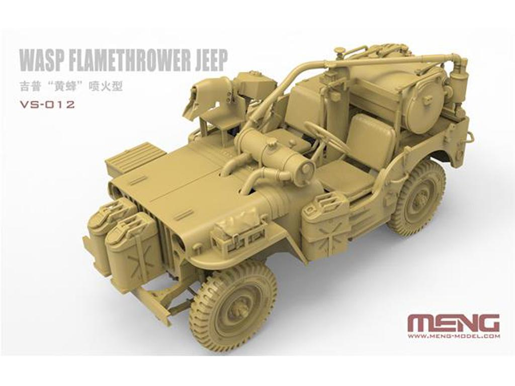MB Military Vehicle Wasp Flamethrower (Vista 2)