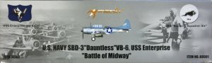 SBD-3 Dauntless VB-6 USS Enterprise - Ref.: MERI-88001