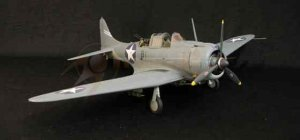 SBD-3 Dauntless VB-6 USS Enterprise