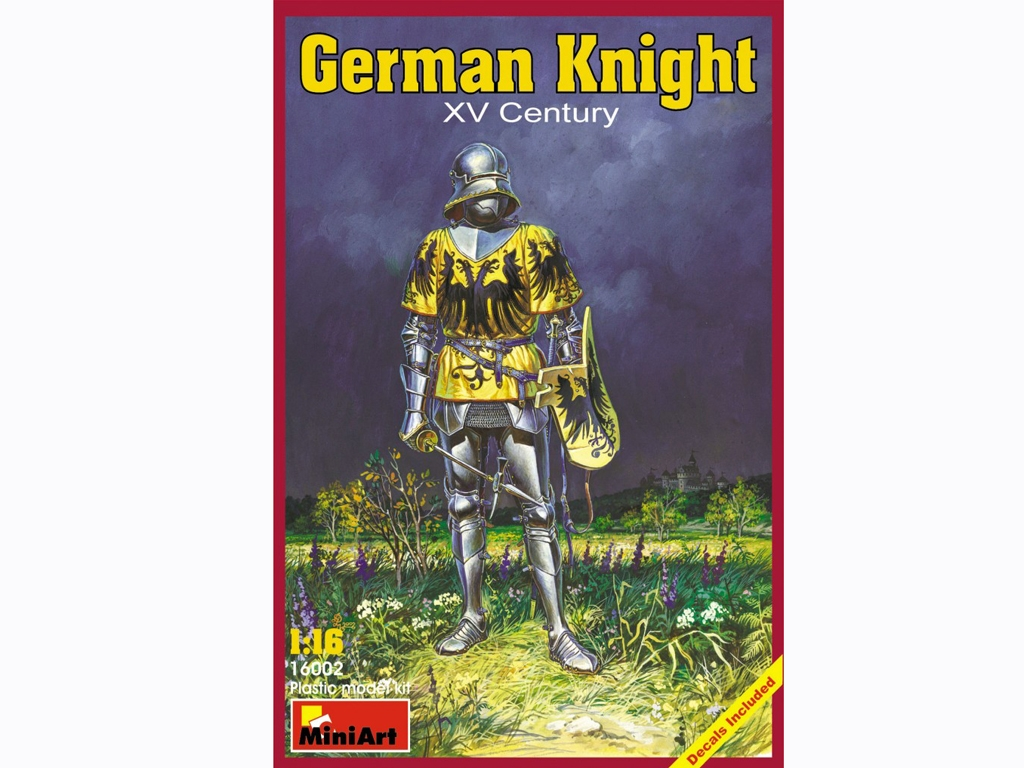Caballero Aleman Siglo XV  (Vista 1)