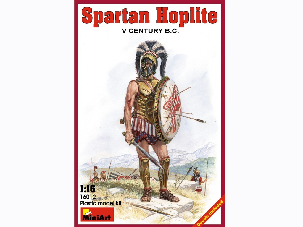 Spartan Hoplite IV Century B.C.  (Vista 1)