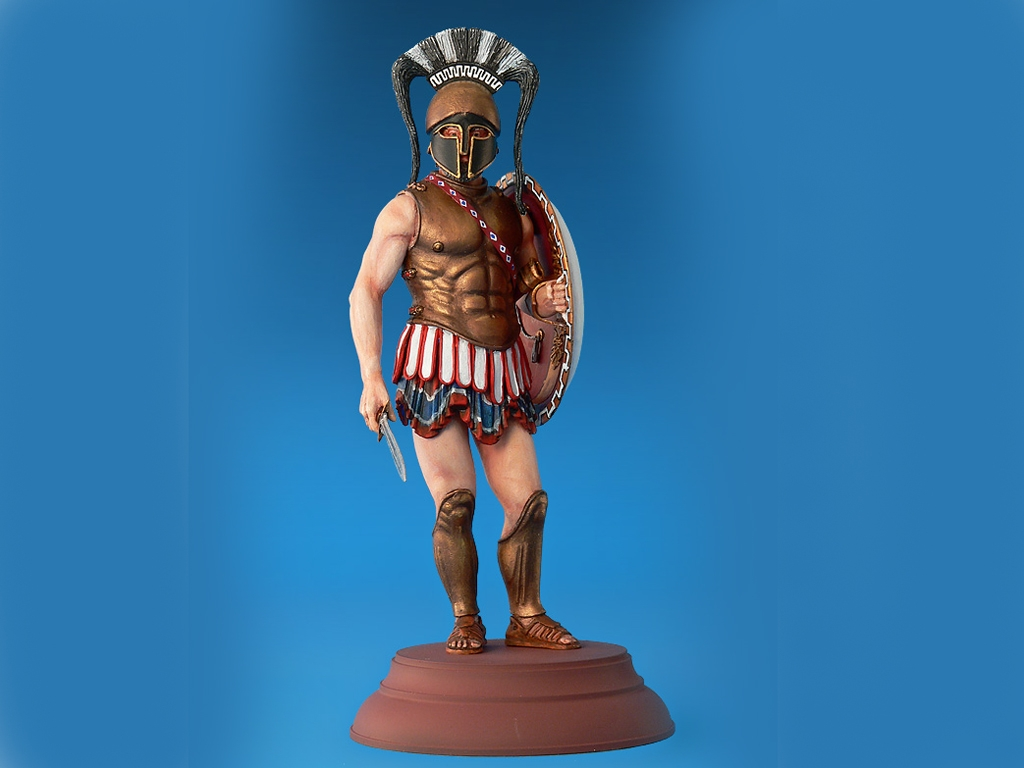 Spartan Hoplite IV Century B.C.  (Vista 2)