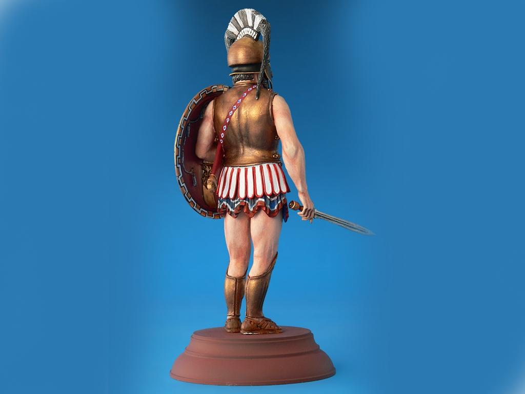 Spartan Hoplite IV Century B.C.  (Vista 3)