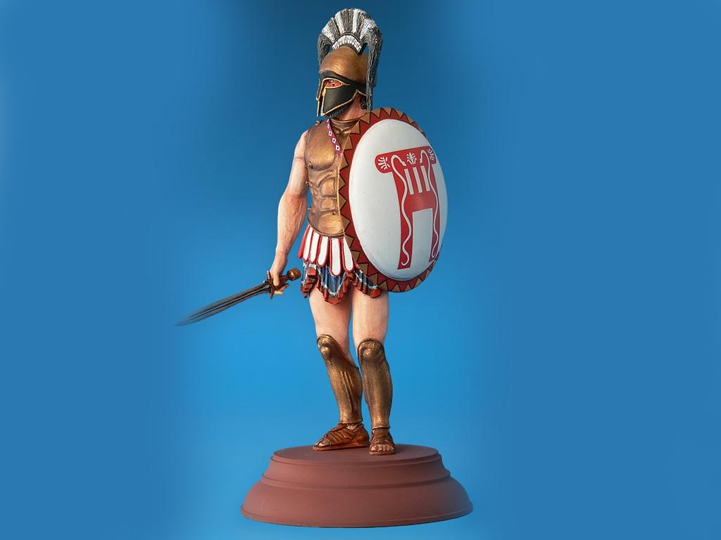 Spartan Hoplite IV Century B.C.  (Vista 4)