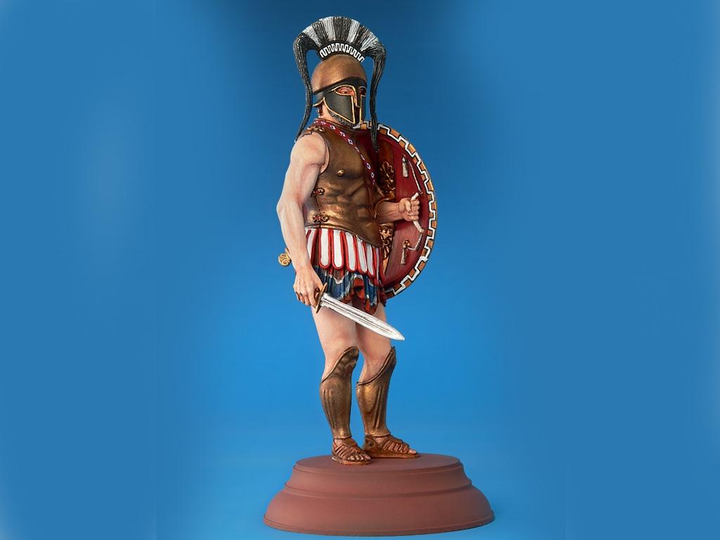 Spartan Hoplite IV Century B.C.  (Vista 5)