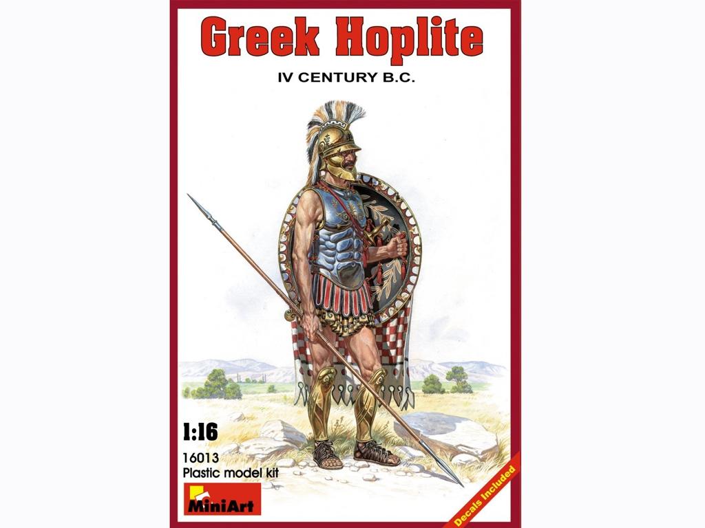Griego Hopilita IV Century B.C.  (Vista 1)