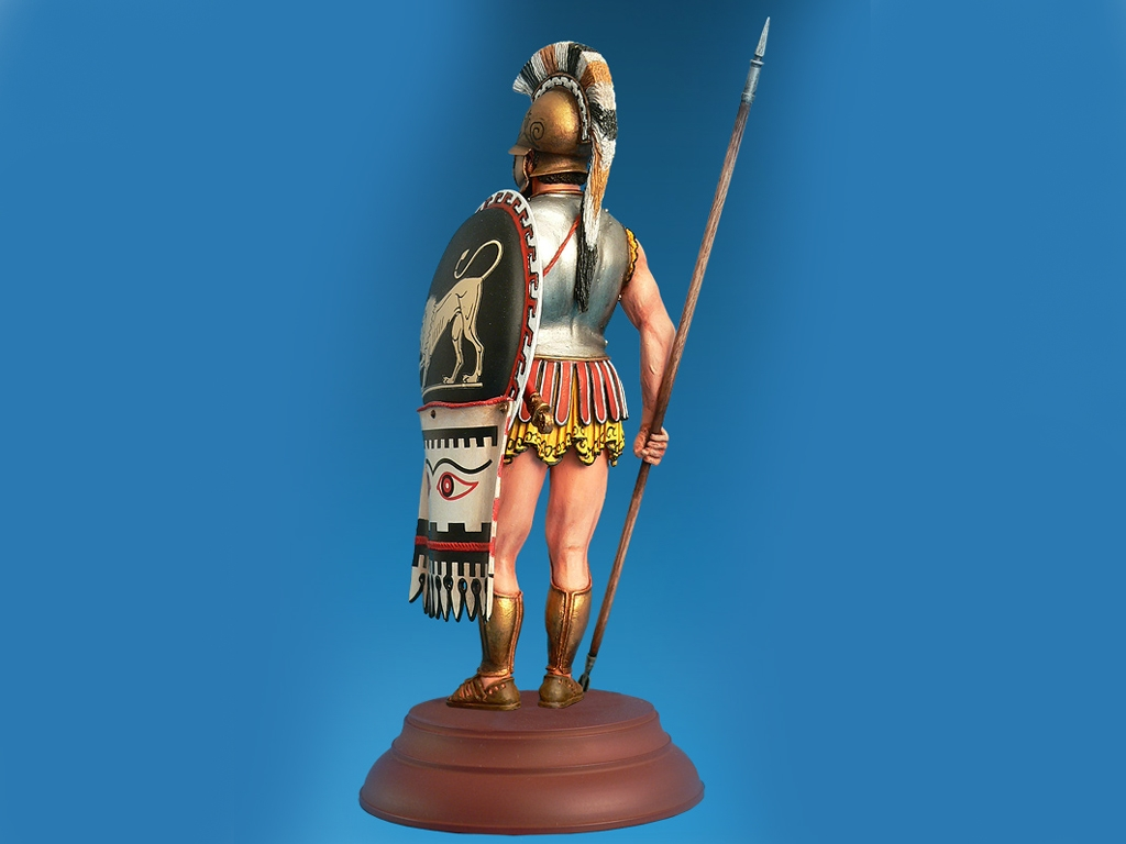 Griego Hopilita IV Century B.C.  (Vista 3)