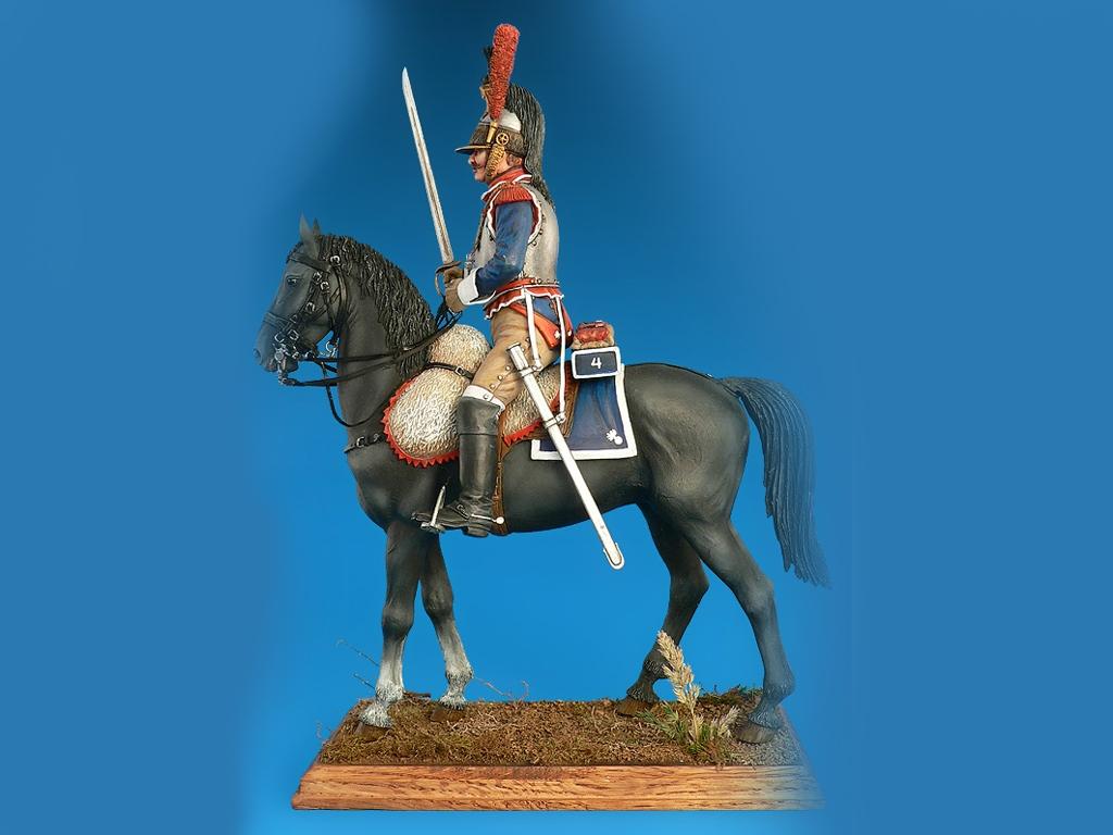 Coracero Frances de las Guerras Napoleon  (Vista 2)