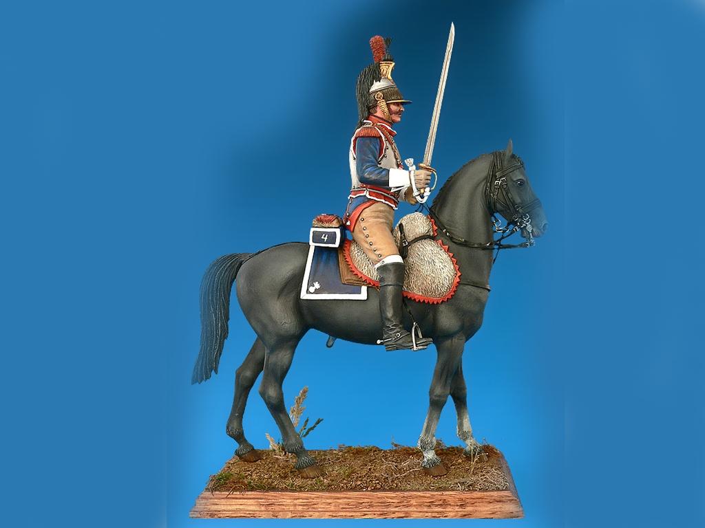 Coracero Frances de las Guerras Napoleon  (Vista 4)