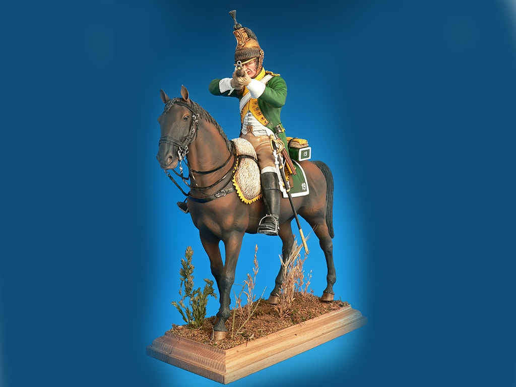 Dragon Frances , Guerras Napoleonicas  (Vista 4)