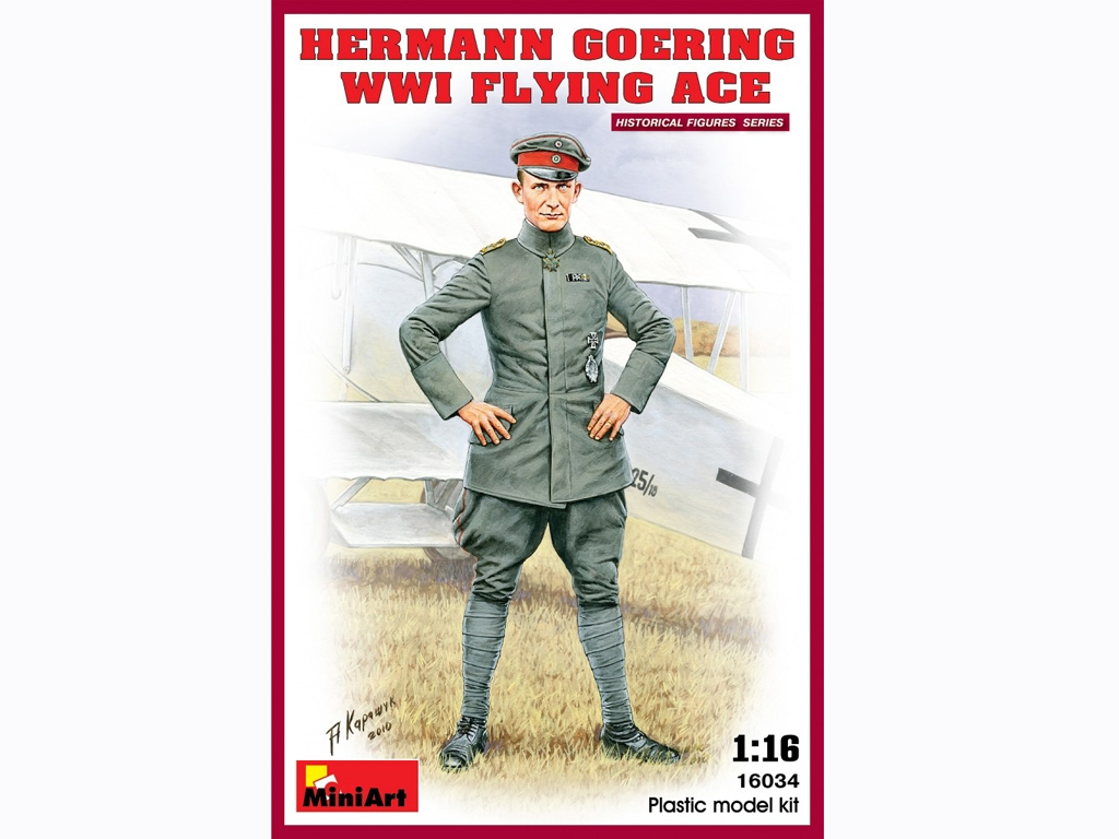 Hermann Goering. WW1 Flying Ace  (Vista 1)
